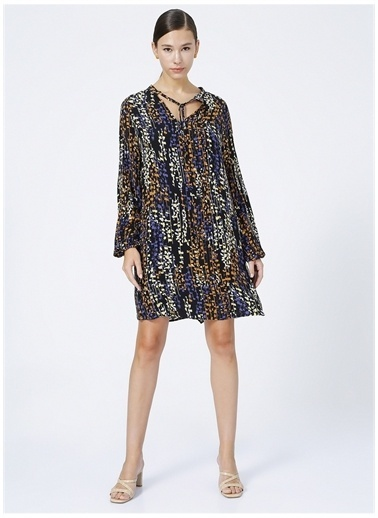 Fabrika Comfort Elbise Renkli